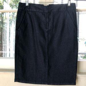 Club Monaco Denim Pencil Skirt-size 2